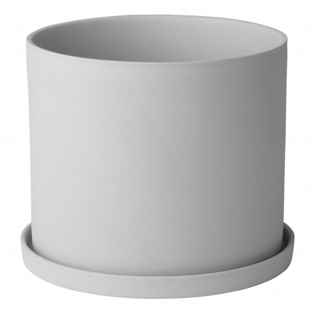 Produktové foto Květináč NONA světle šedý Blomus