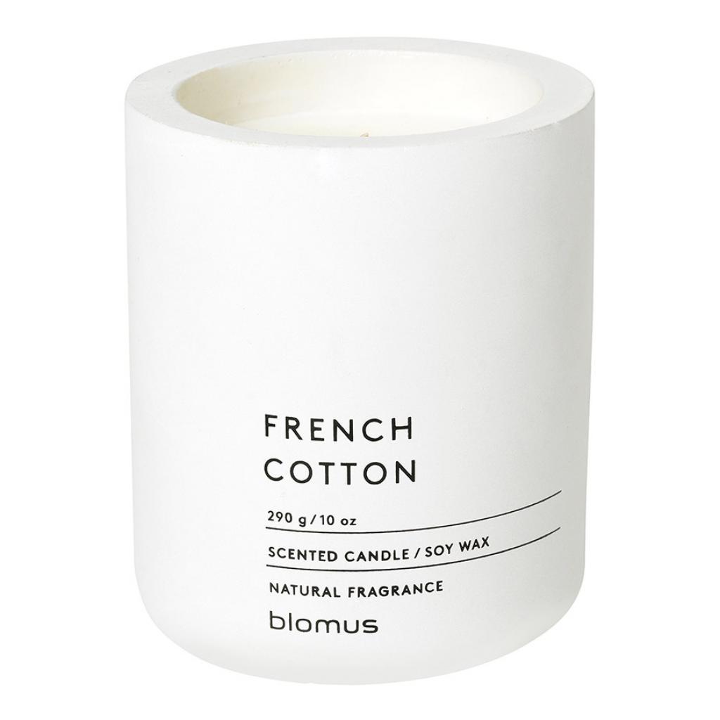 Produktové foto Vonná svíčka ze sójového vosku FRAGA bílá O 9 cm Blomus