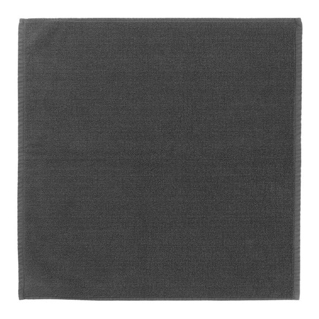Produktové foto Koupelnová předložka malá PIANA 55 x 55 cm šedočerná Blomus