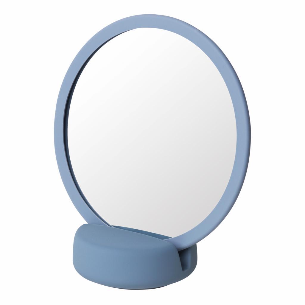 Produktové foto Kosmetické zrcadlo stolní SONO kouřově modré Blomus