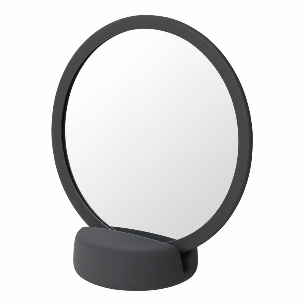 Produktové foto Kosmetické zrcadlo stolní SONO šedočerné Blomus