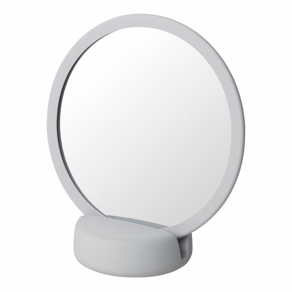 Produktové foto Kosmetické zrcadlo stolní SONO světle šedé Blomus