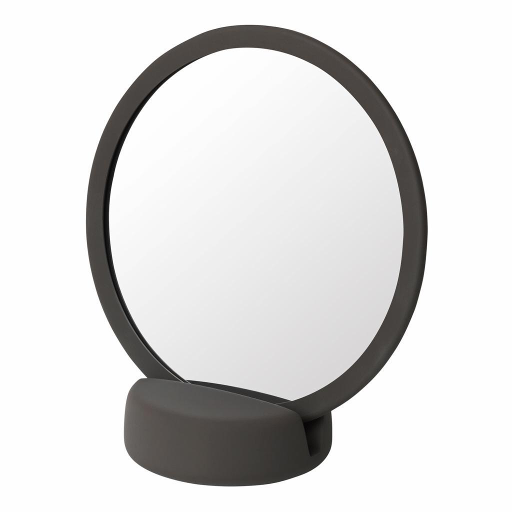 Produktové foto Kosmetické zrcadlo stolní SONO tmavě hnědé Blomus