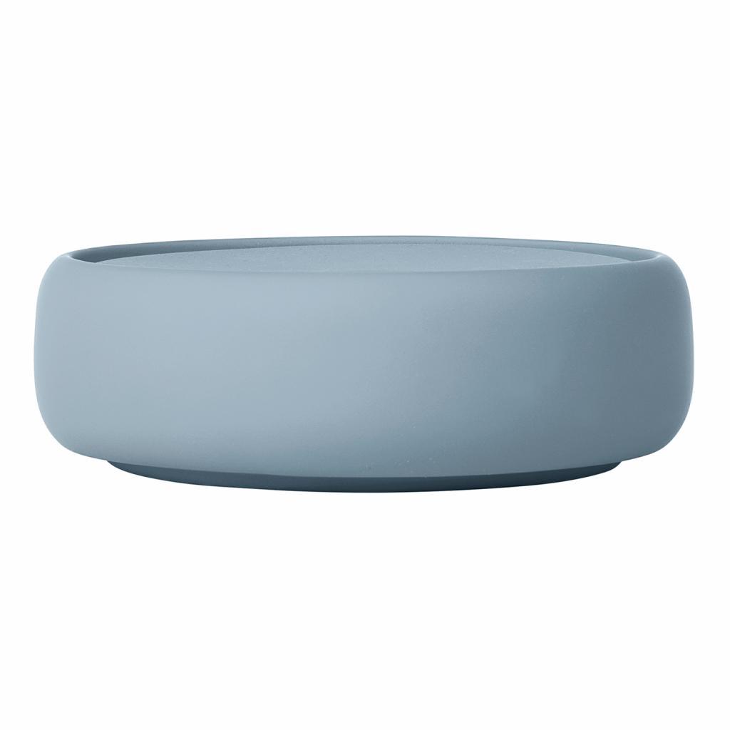 Produktové foto Úložný box na kosmetické potřeby SONO kouřově modrý Blomus