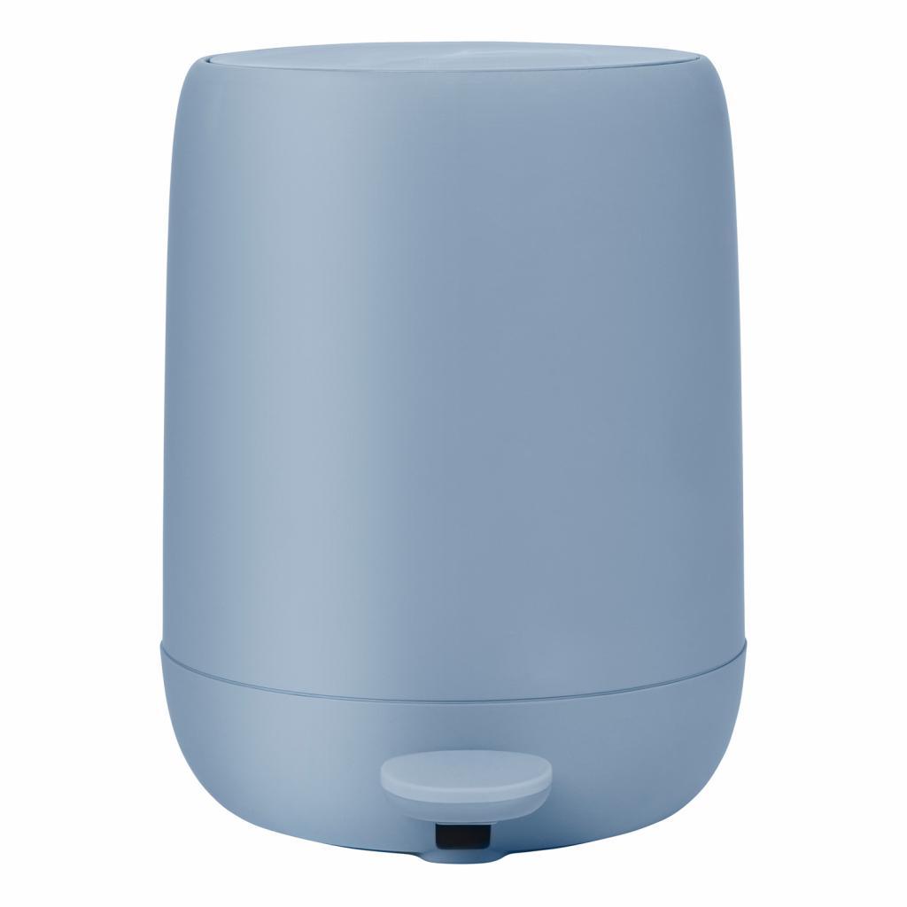 Produktové foto Kosmetický odpadkový koš SONO kouřově modrý 5 l Blomus
