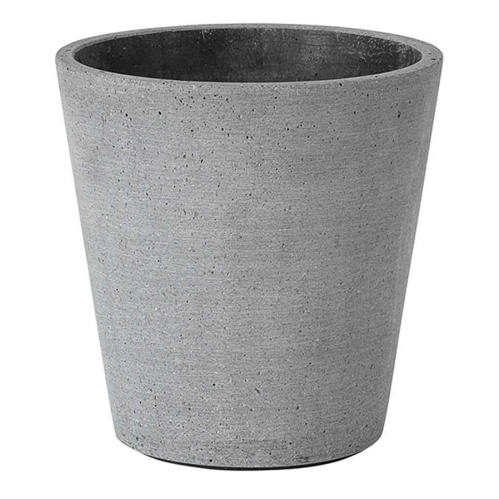 Produktové foto Květináč Coluna tmavě šedý O 14 cm Blomus