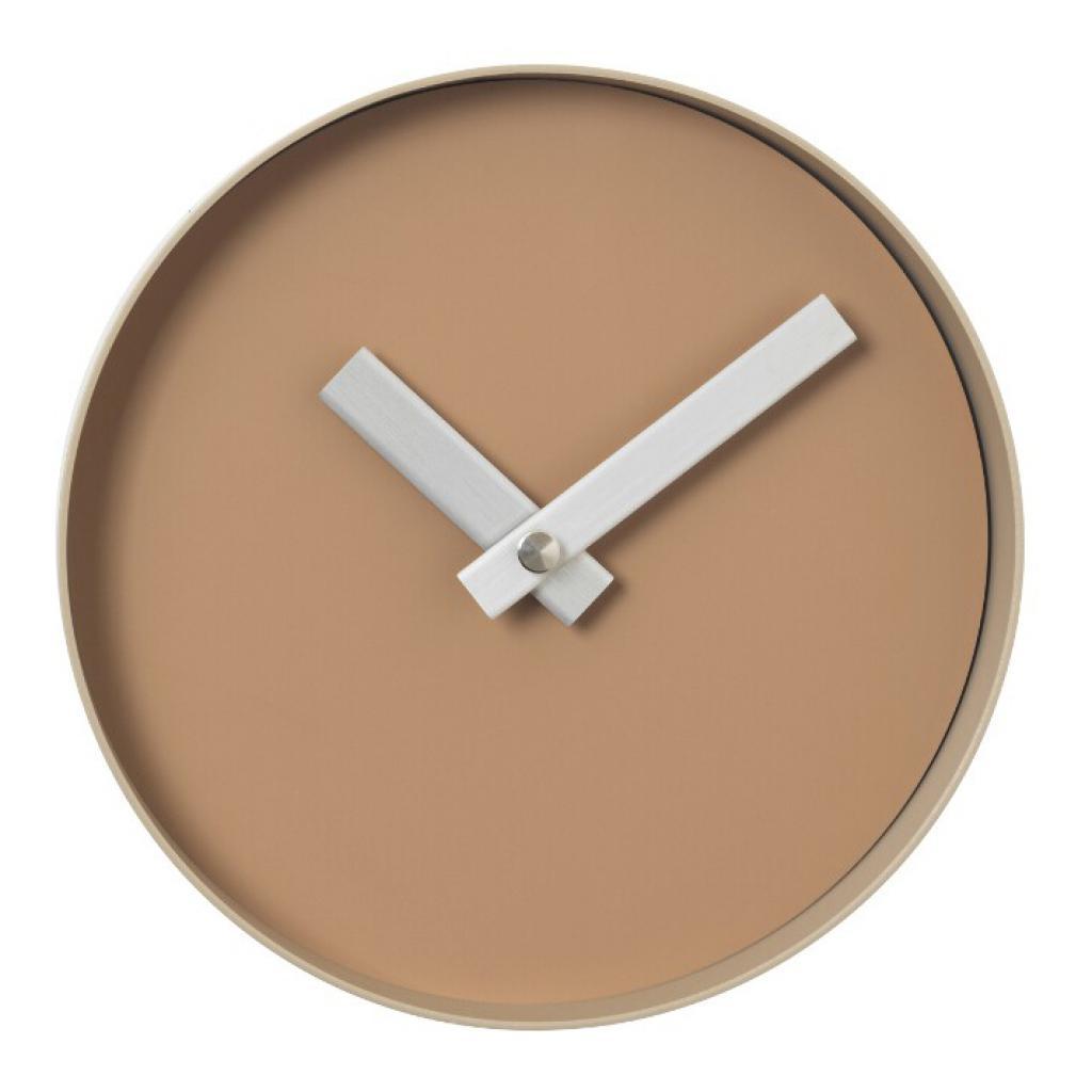 Produktové foto Nástěnné hodiny RIM malé světle hnědé Blomus