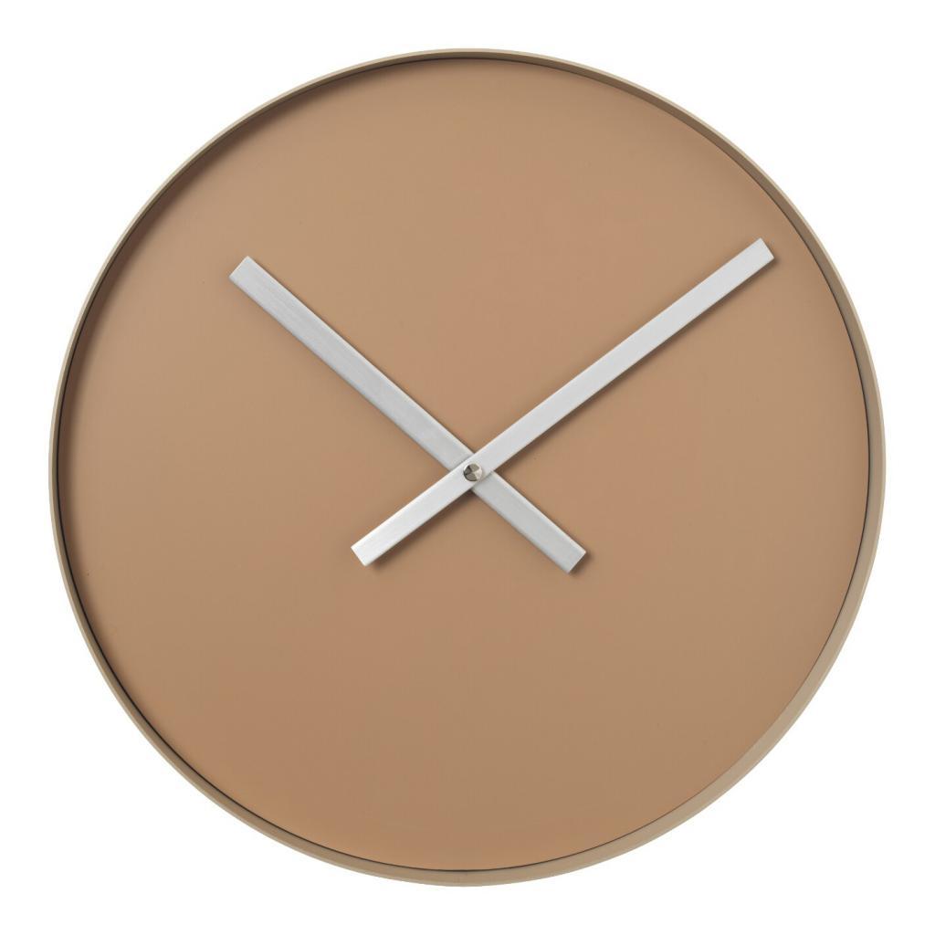 Produktové foto Nástěnné hodiny RIM velké svělte hnědé Blomus
