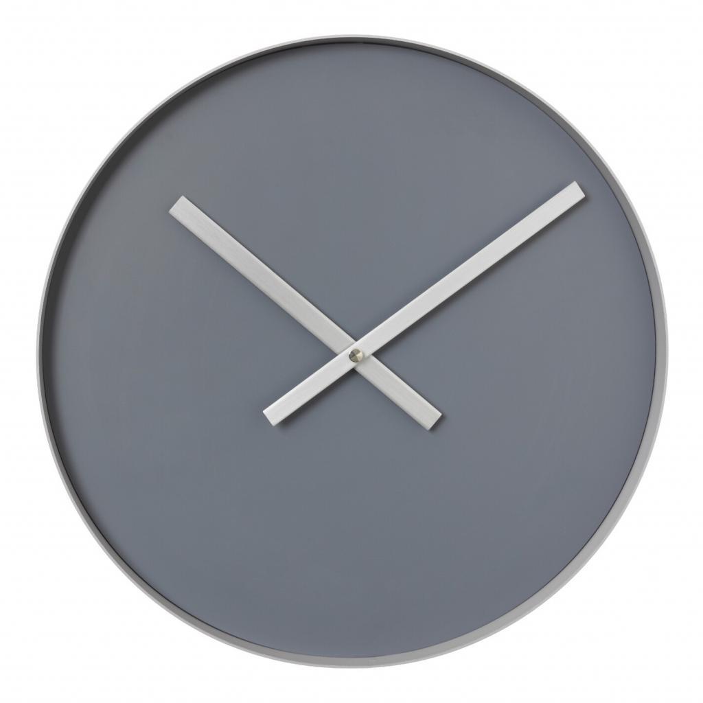 Produktové foto Nástěnné hodiny RIM velké šedé Blomus