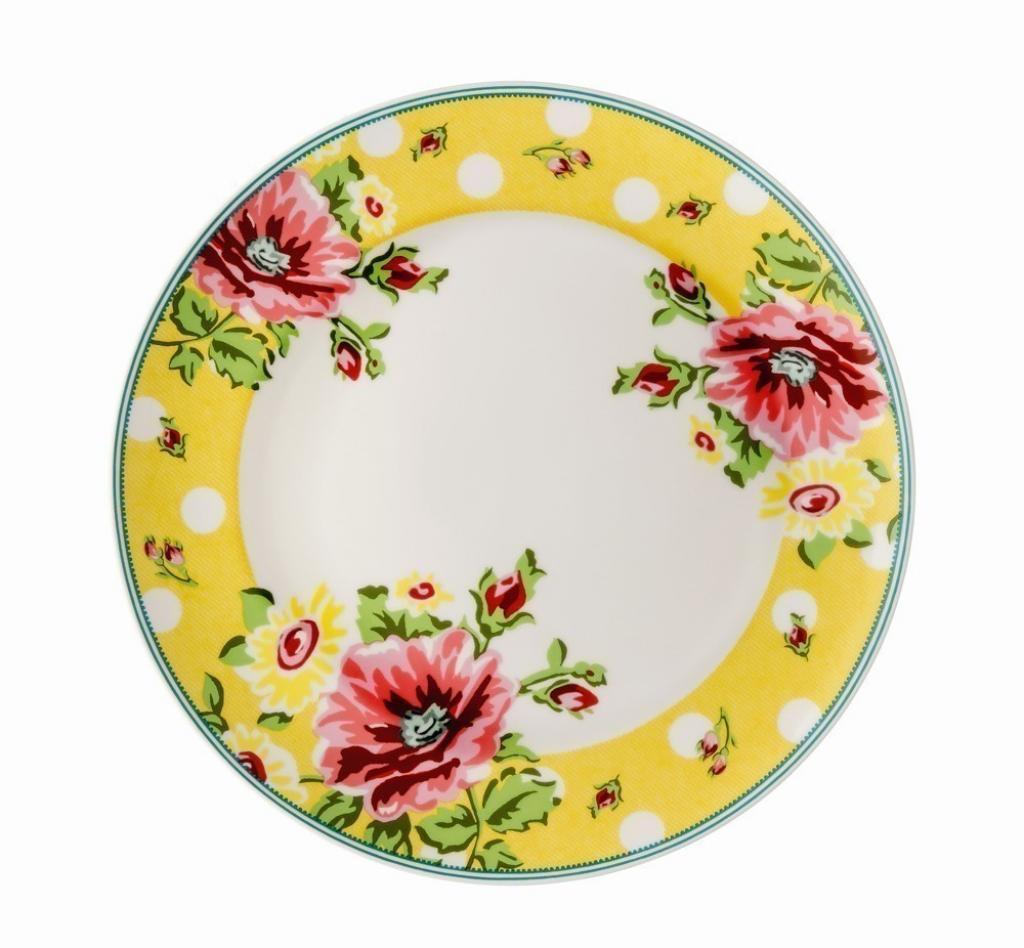 Produktové foto Mělký talíř Springtime Flowers Sun Rosenthal 22 cm