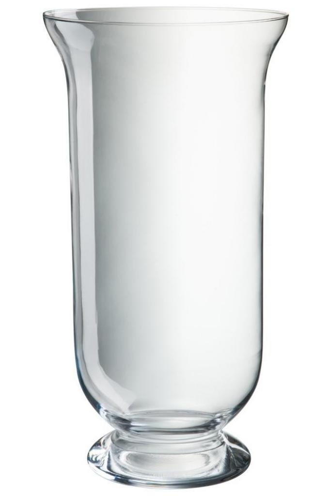 Produktové foto J-Line by Jolipa Skleněná váza Hurricane - Ø22*40cm