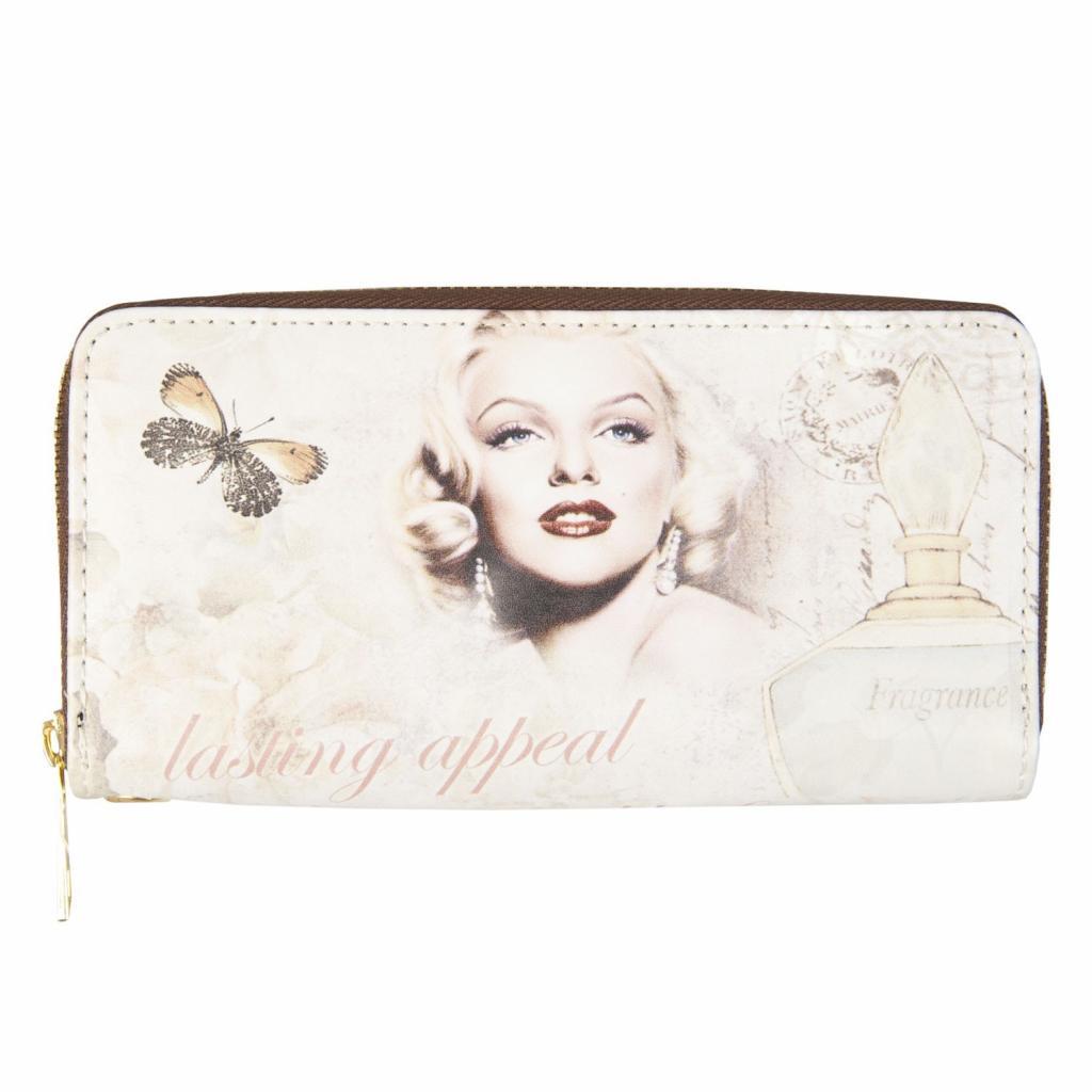 Produktové foto Clayre & Eef Peněženka Marilyn - 20*11 cm