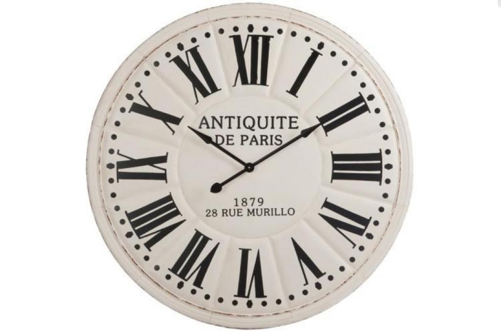 Produktové foto J-Line by Jolipa Nástěnné hodiny ANTIQUITÉ DE PARIS - Ø 113*7 cm