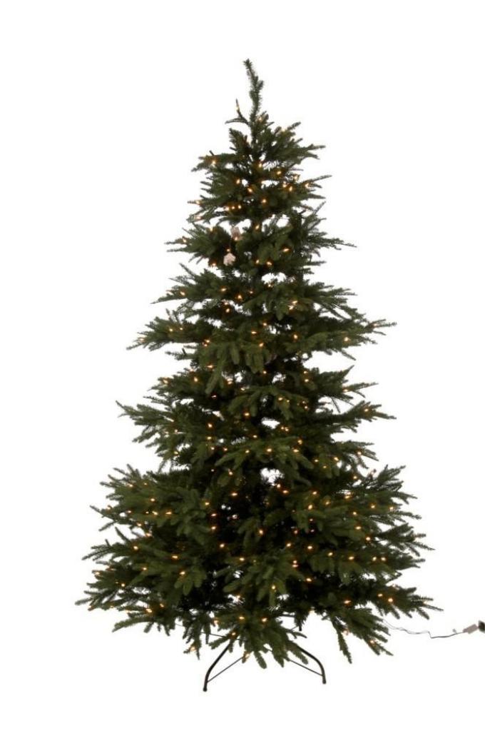 Produktové foto J-Line by Jolipa Vánoční stromek extra s led světýlky zelený - 225cm