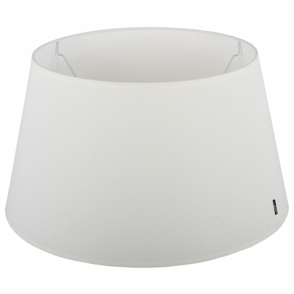 Produktové foto Collectione Krémové stínidlo Eleganza off white - Ø25*13,5cm / E27