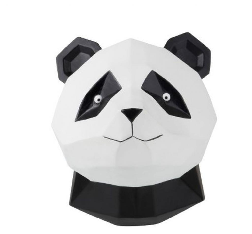 Produktové foto J-Line by Jolipa Nástěnná dekorace Panda origami - 22*21*26cm