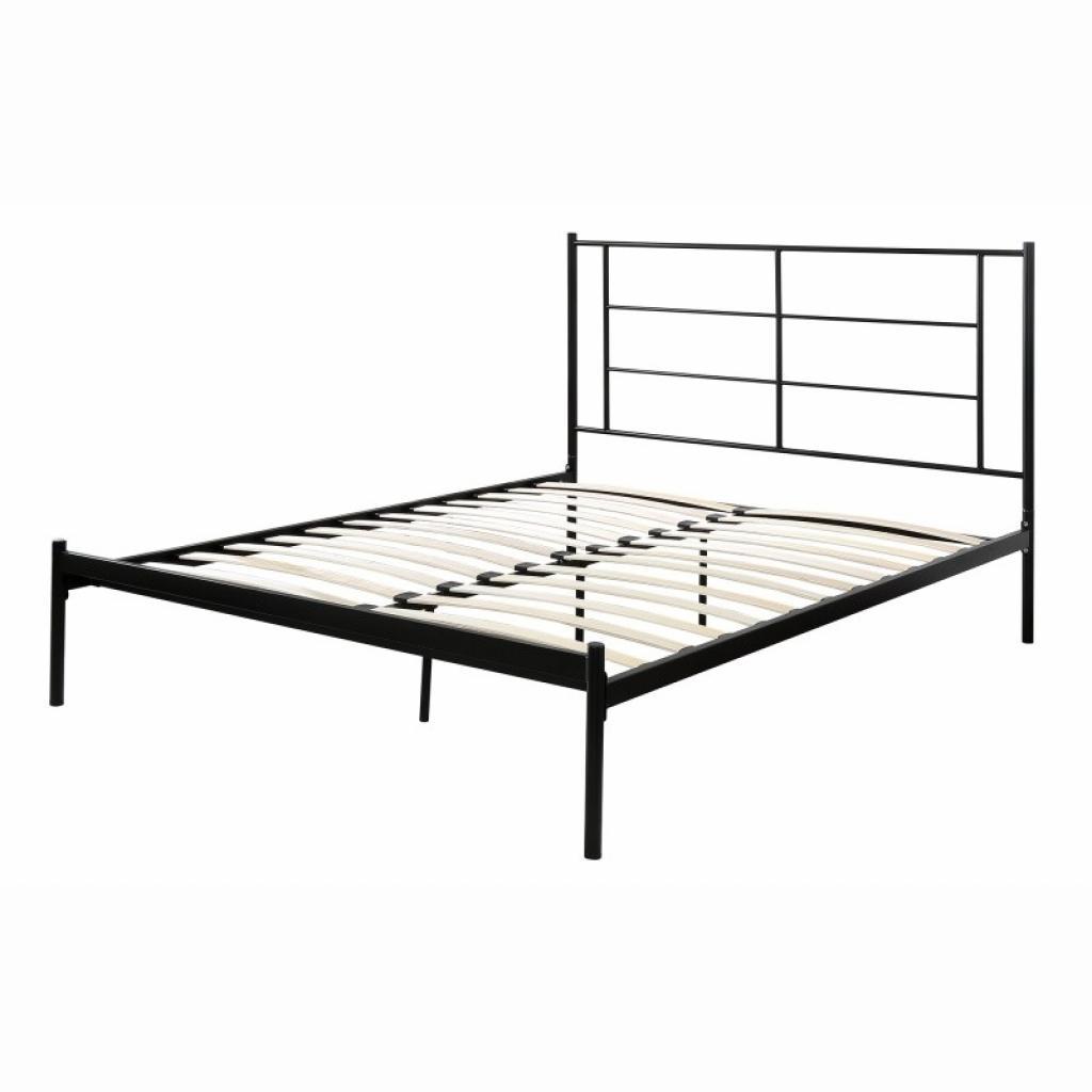 Produktové foto Hector Kovová postel Marotta 160x200 černá