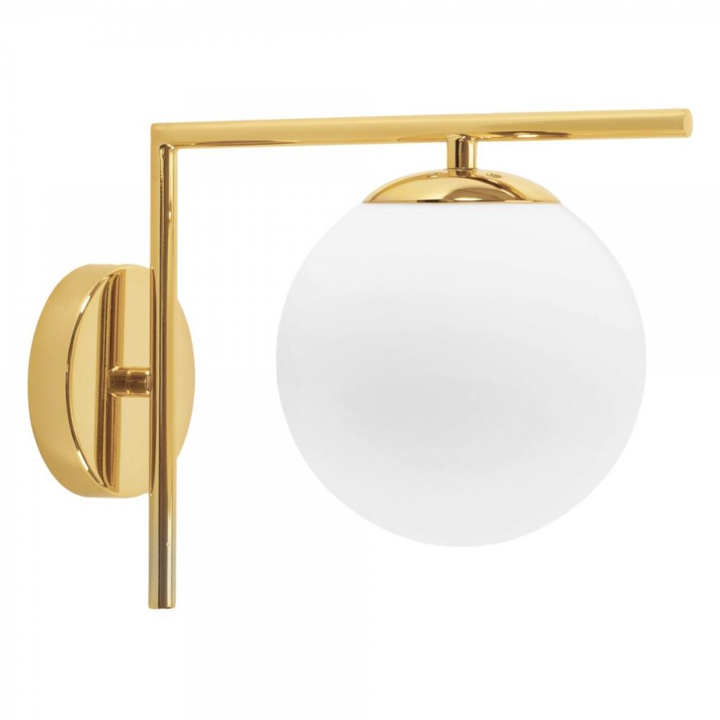 Produktové foto TooLight Nástěnná lampa Ball II 40 cm zlatá
