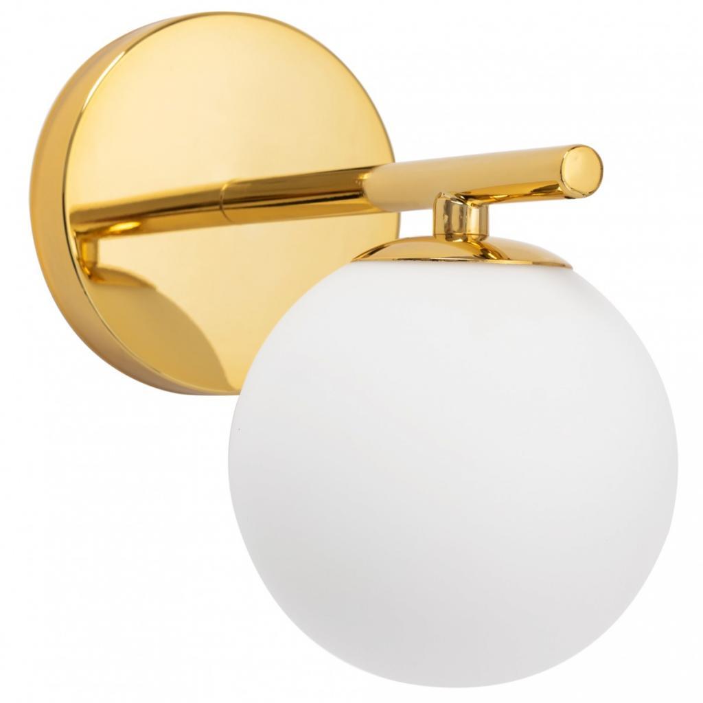 Produktové foto TooLight Nástěnná lampa Ball III zlatá