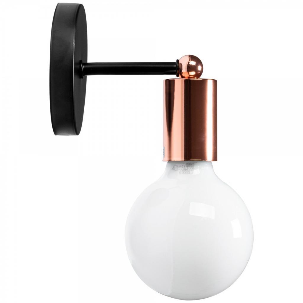 Produktové foto TooLight Nástěnná lampa Bulb rose gold 392205
