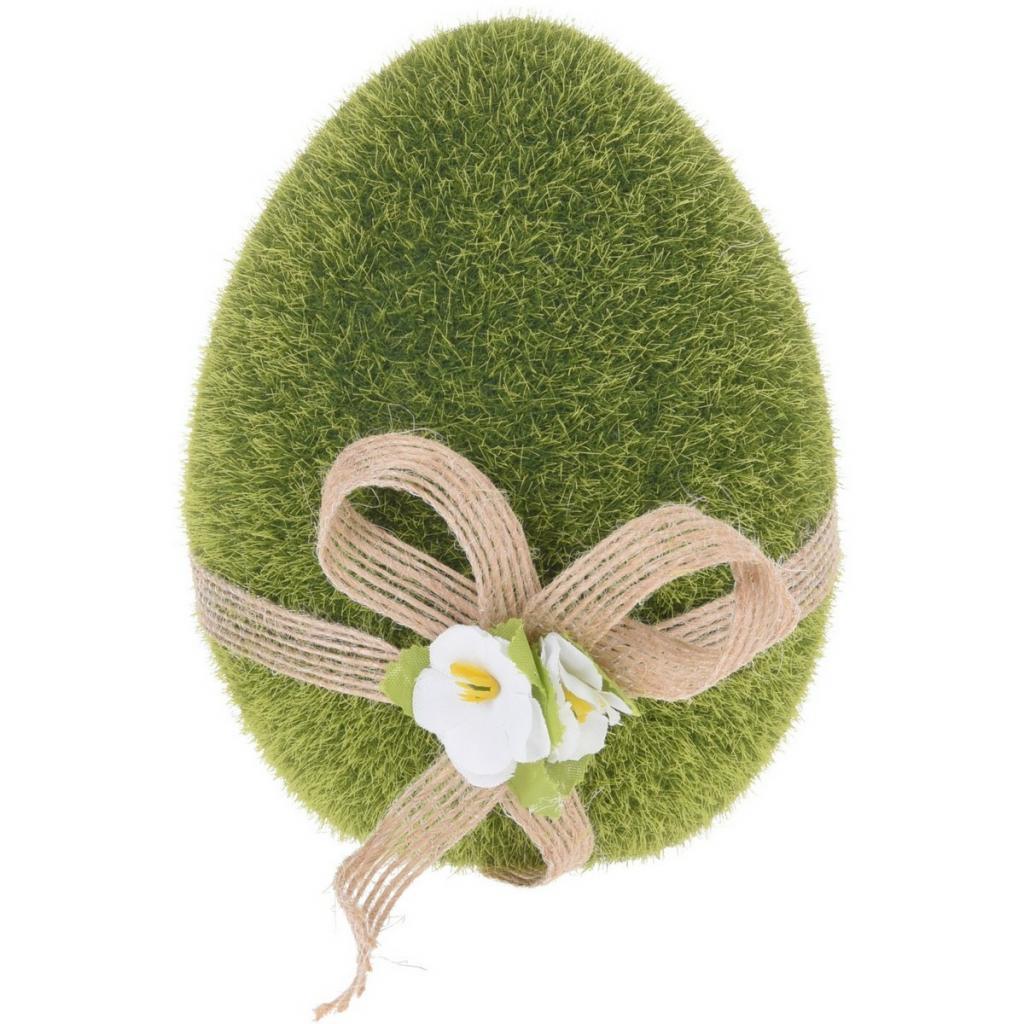 Produktové foto Velikonoční dekorace Zelené vajíčko, 11 cm