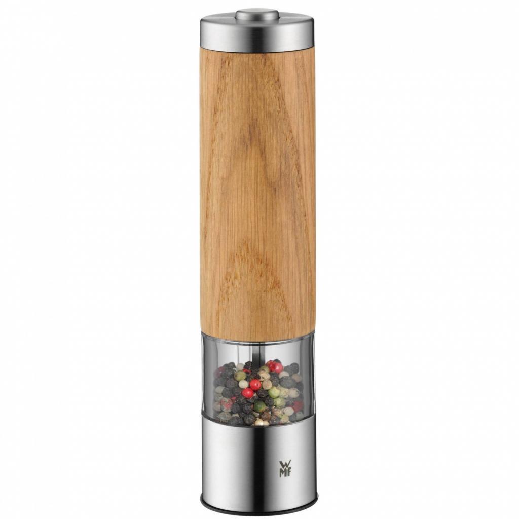 Produktové foto WMF Elektrický mlýnek na pepř/sůl se dřevem