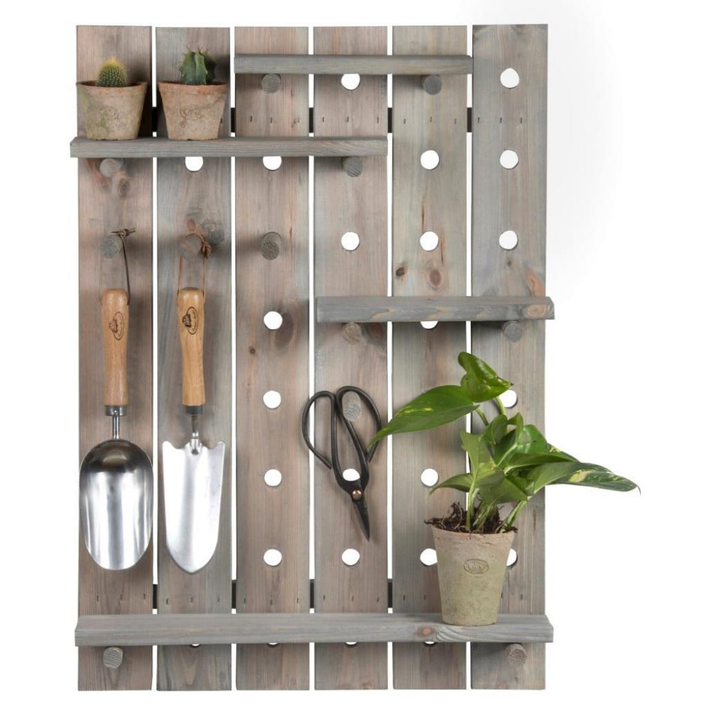 Produktové foto Police na nářadí z borovicového dřeva Esschert Design Garden