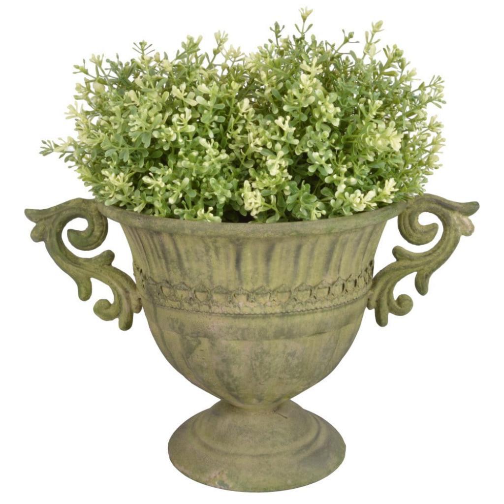 Produktové foto Kovová vysoká váza na květiny Esschert Design