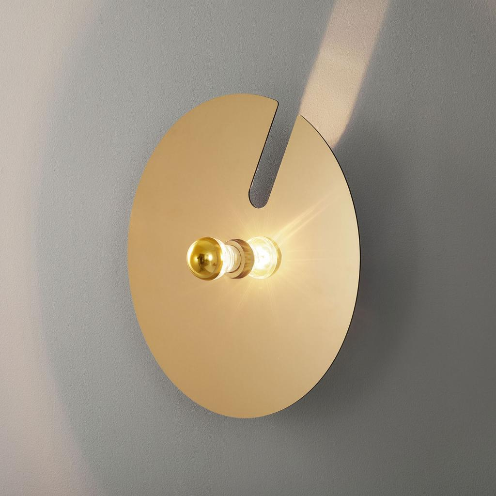 Produktové foto WEVER & DUCRÉ WEVER & DUCRÉ Mirro 2.0 nástěnné 45 cm černá/zlatá
