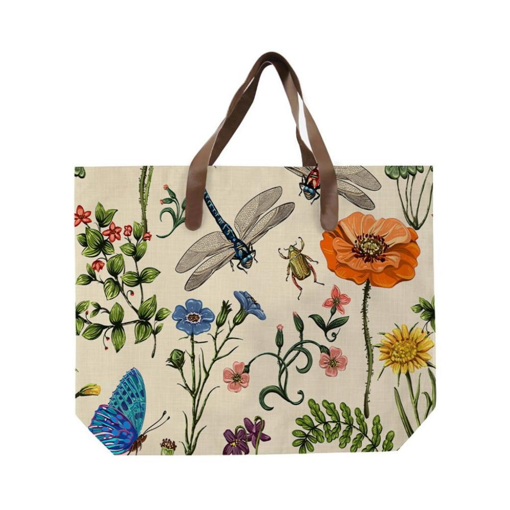 Produktové foto Plátěná taška s uchem z imitace kůže Surdic Bella