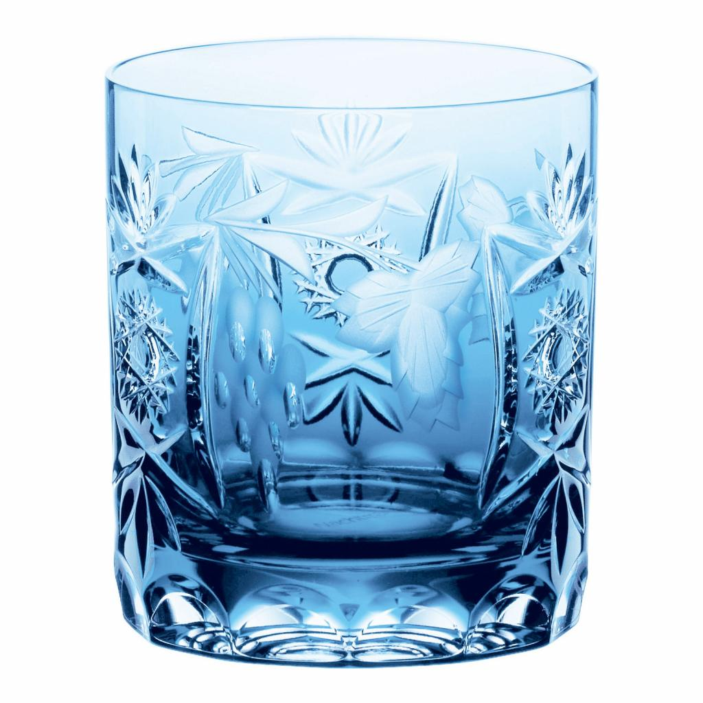 Produktové foto Sklenice na whisky Aquamarine Traube