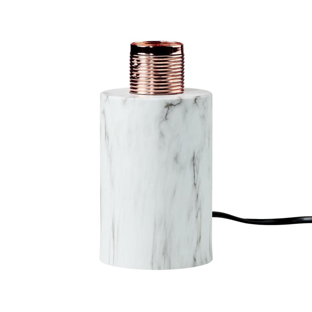 Produktové foto STILO Podstavec pro světlo mramorový vzhled 7 cm
