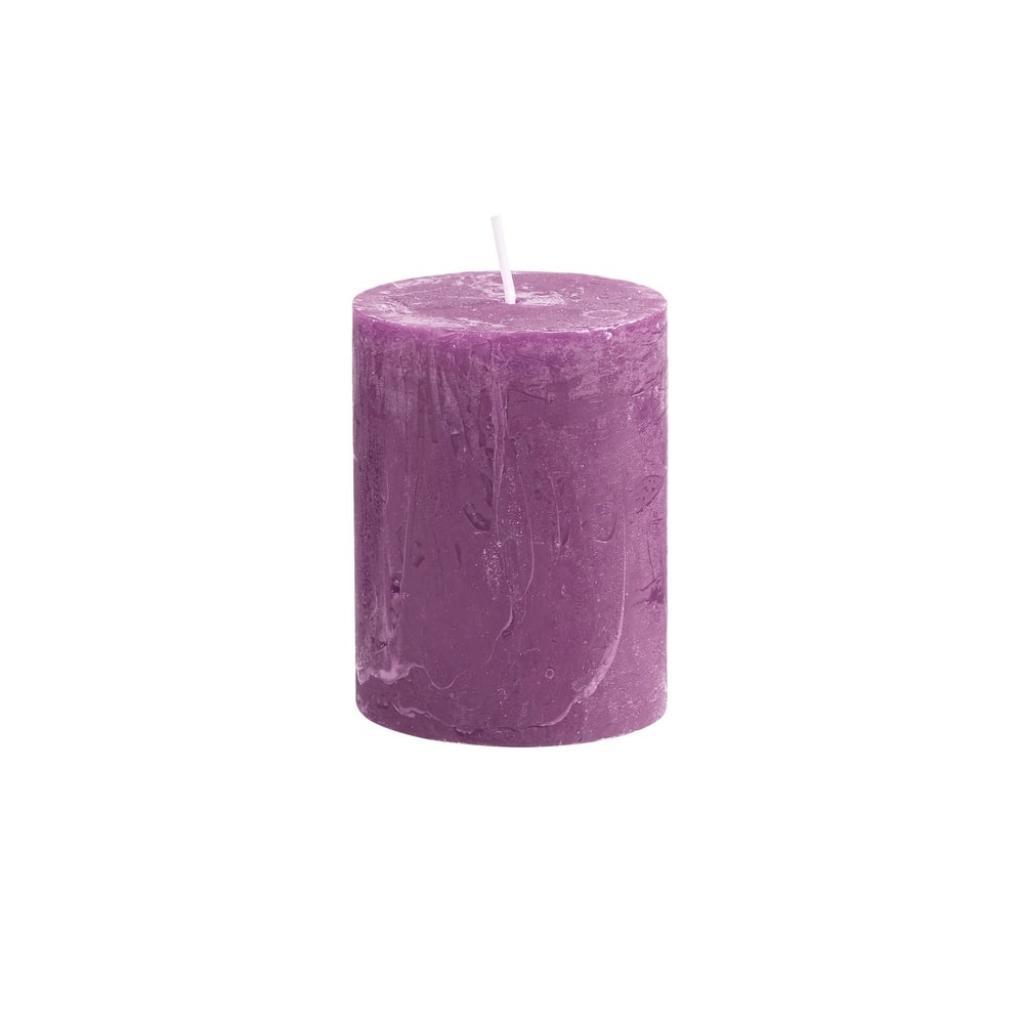 Produktové foto RUSTIC Svíčka 9 cm - fialová