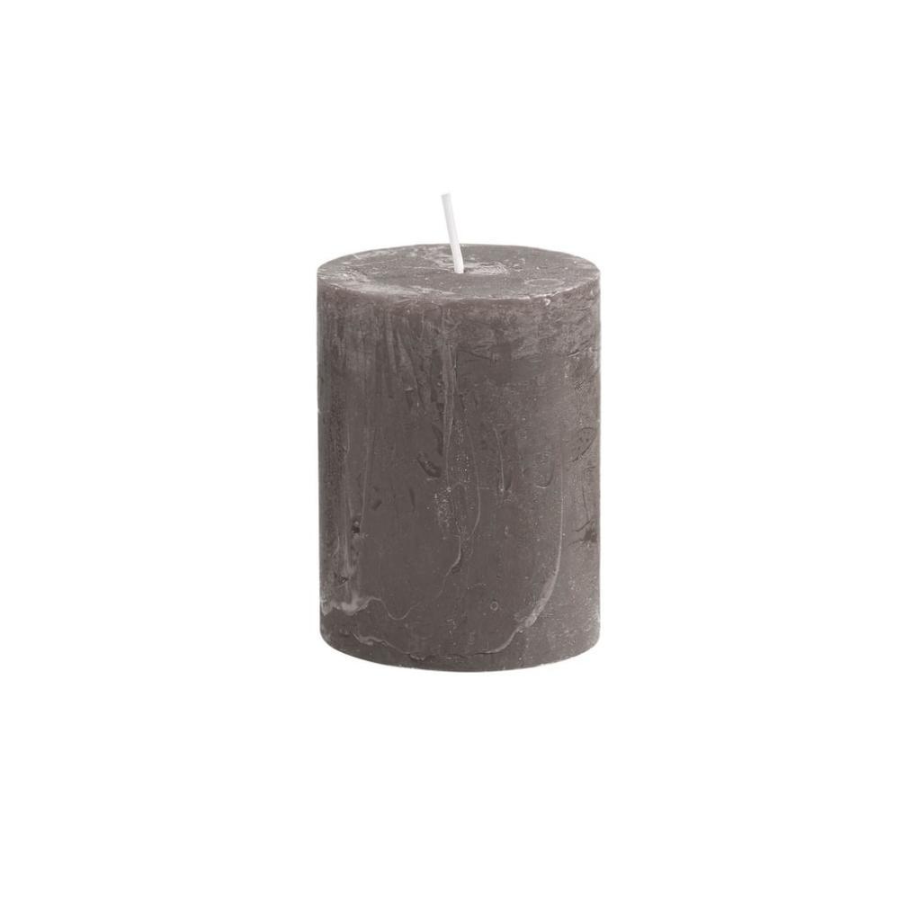 Produktové foto RUSTIC Svíčka 9 cm - šedohnědá