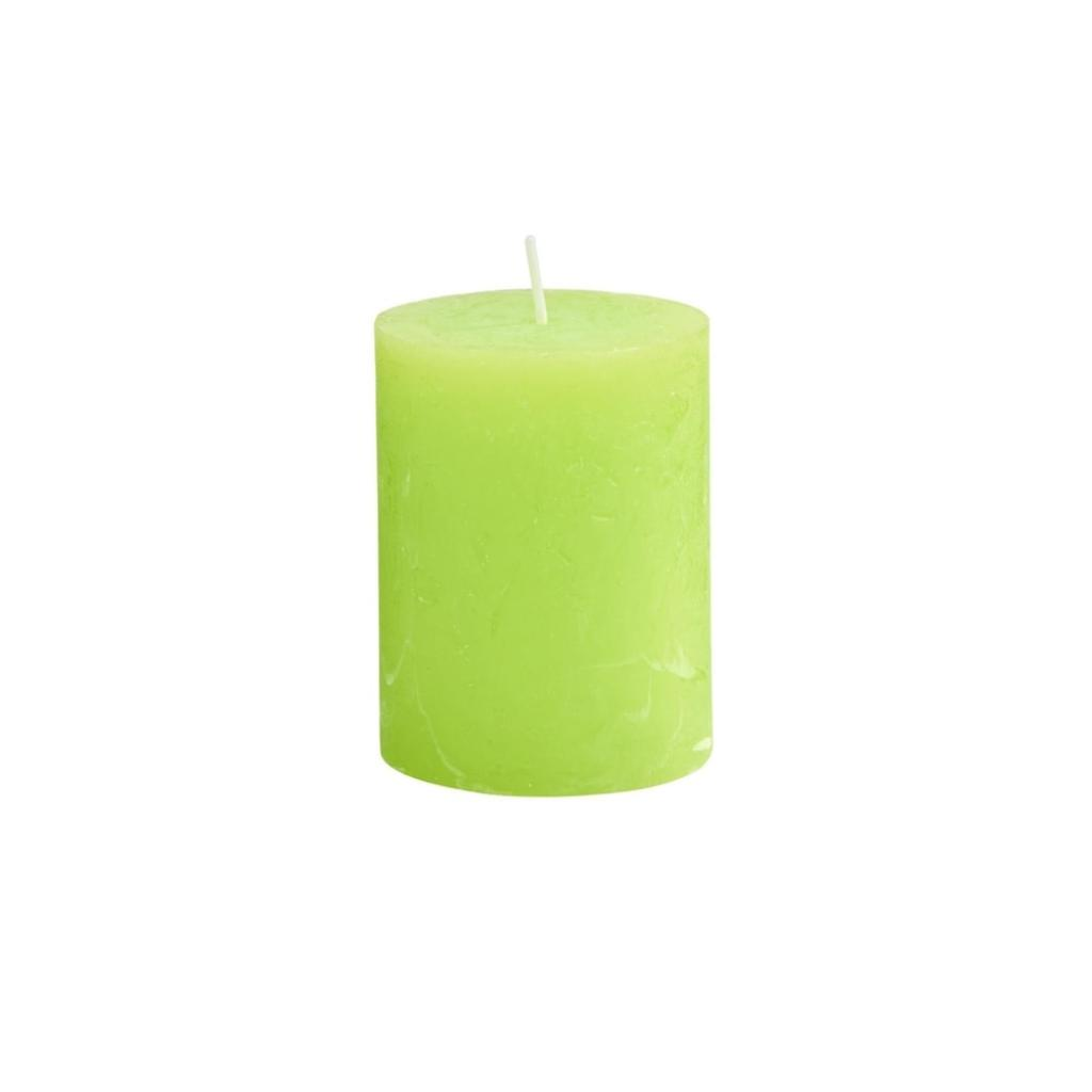Produktové foto RUSTIC Svíčka 9 cm - sv. zelená
