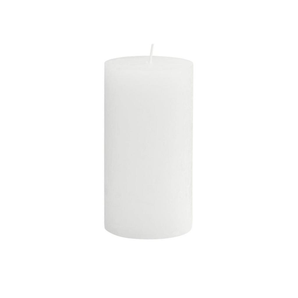 Produktové foto RUSTIC Svíčka 13 cm - bílá
