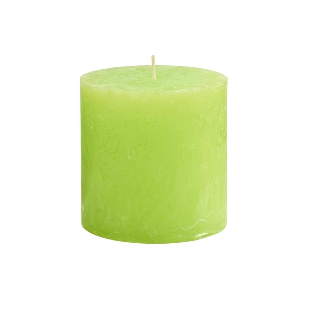 Produktové foto RUSTIC Svíčka 10 cm - sv. zelená