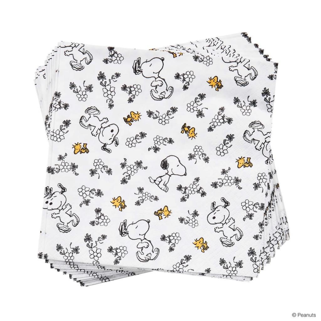 Produktové foto PEANUTS Papírové ubrousky milující Snoopy 20 ks