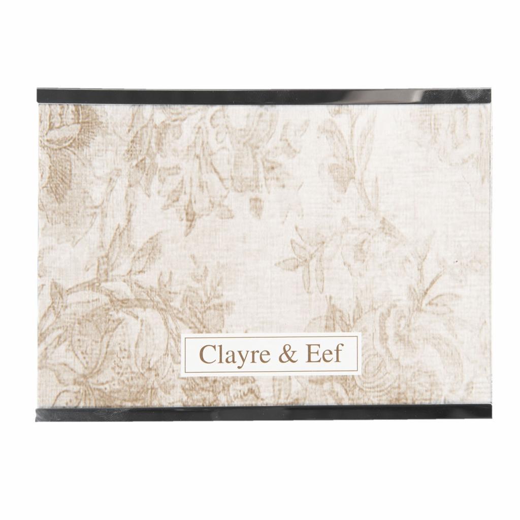 Produktové foto Clayre & Eef Stříbrný kovový fotorámeček Line - 15*10 cm