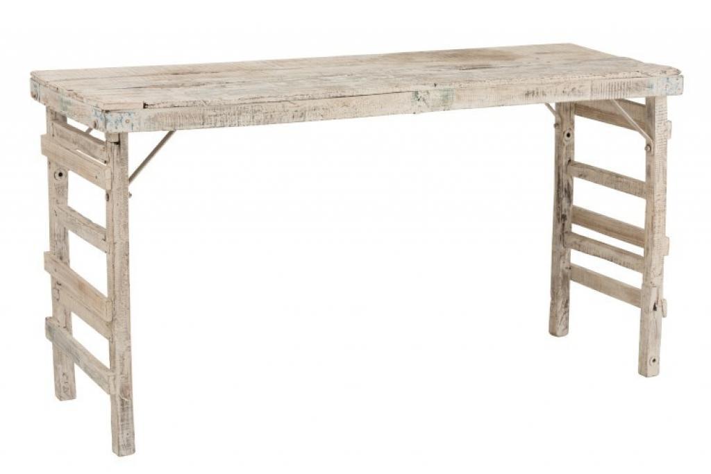 Produktové foto J-Line by Jolipa Vintage dřevěný stůl Adelais - 182*70*90 cm