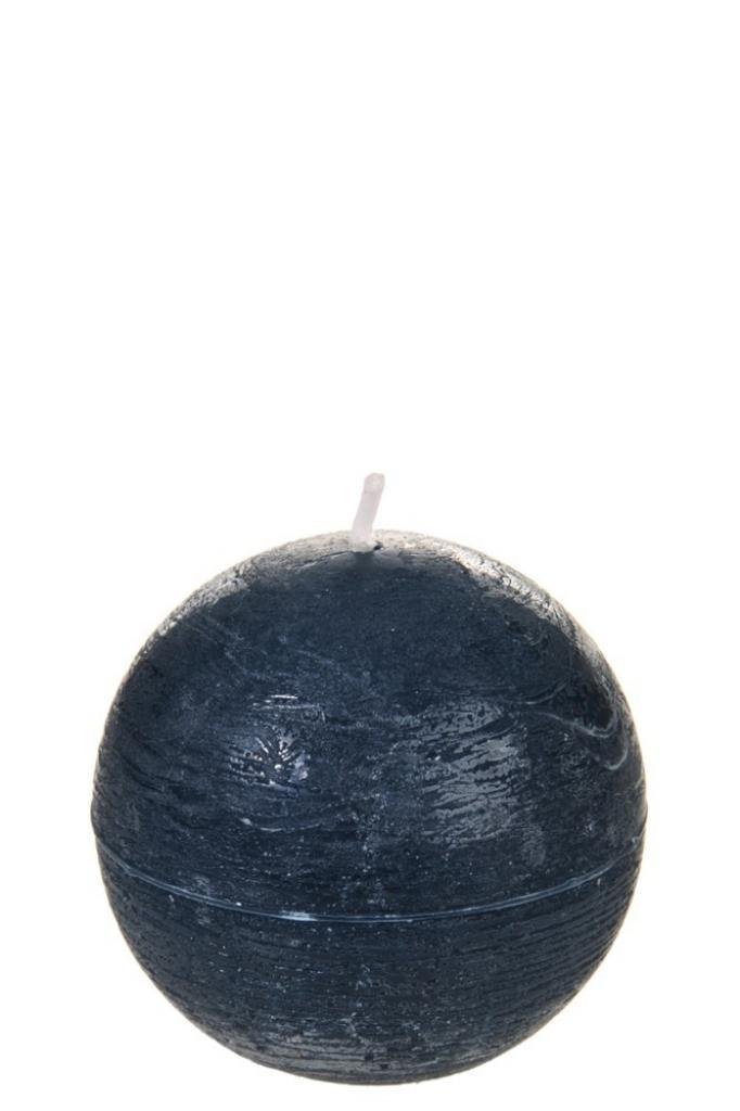 Produktové foto J-Line by Jolipa Kulatá nevonná petrolejová svíčka S - Ø  6,5*6,5 cm/16H