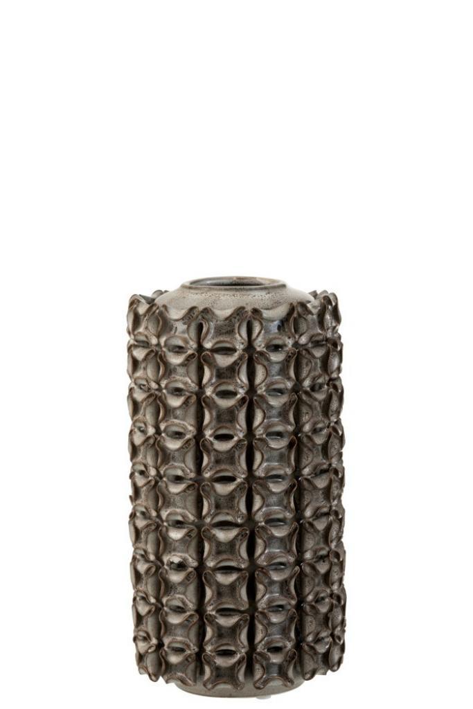 Produktové foto J-Line by Jolipa Designová keramická váza Coral - Ø 14*27 cm