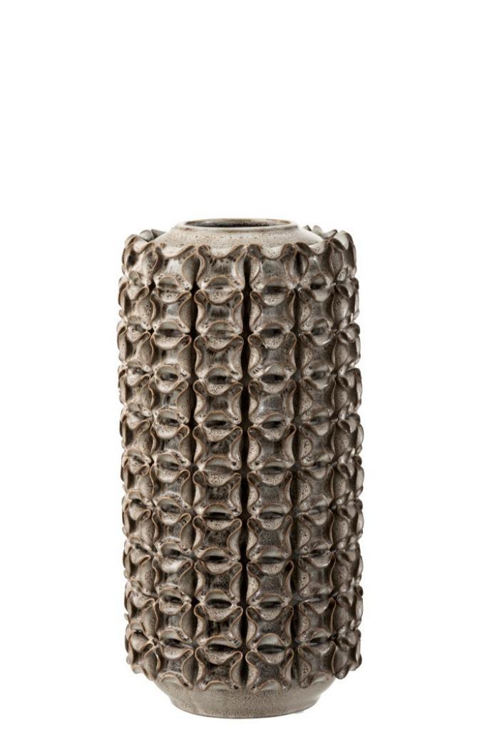 Produktové foto J-Line by Jolipa Keramická váza Coral L - Ø 15*30 cm