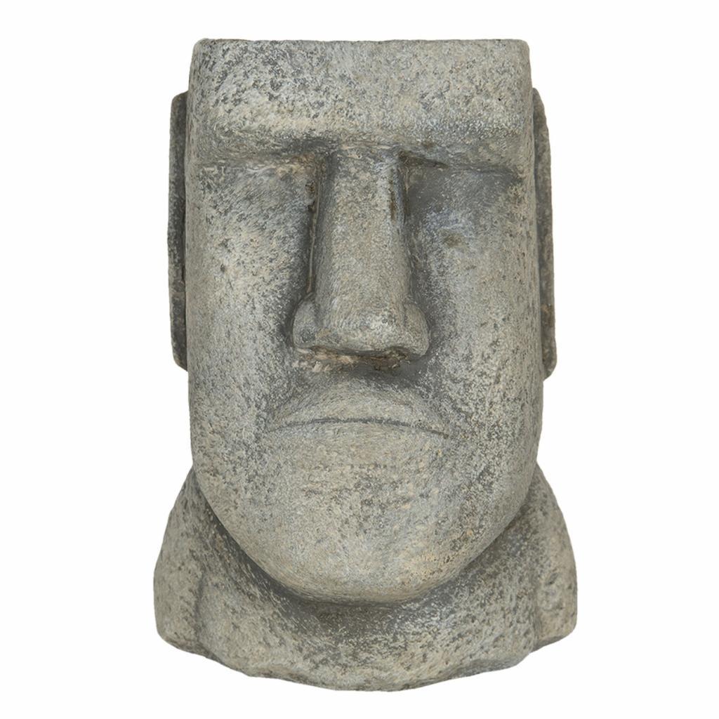 Produktové foto Clayre & Eef Květináč v designu hlavy muže Diriger - 11*10*16 cm
