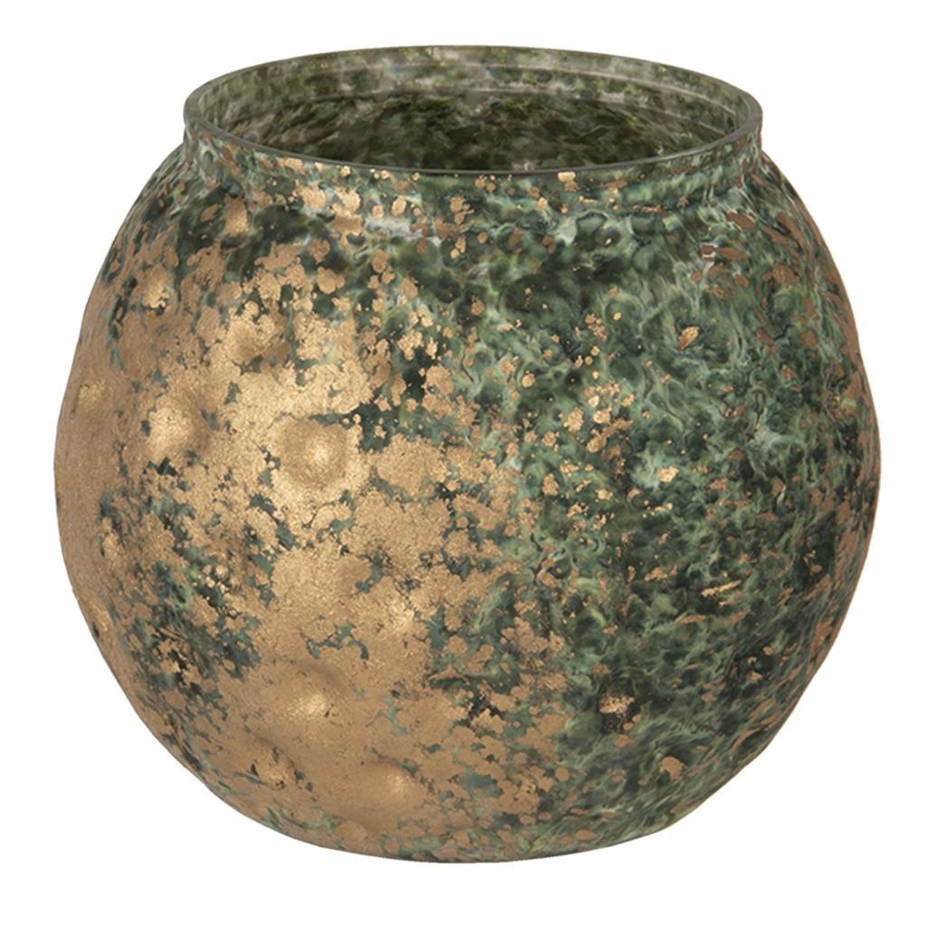 Produktové foto Clayre & Eef Svícen na čajovou svíčku s bronzovou patinou - 10*11 cm