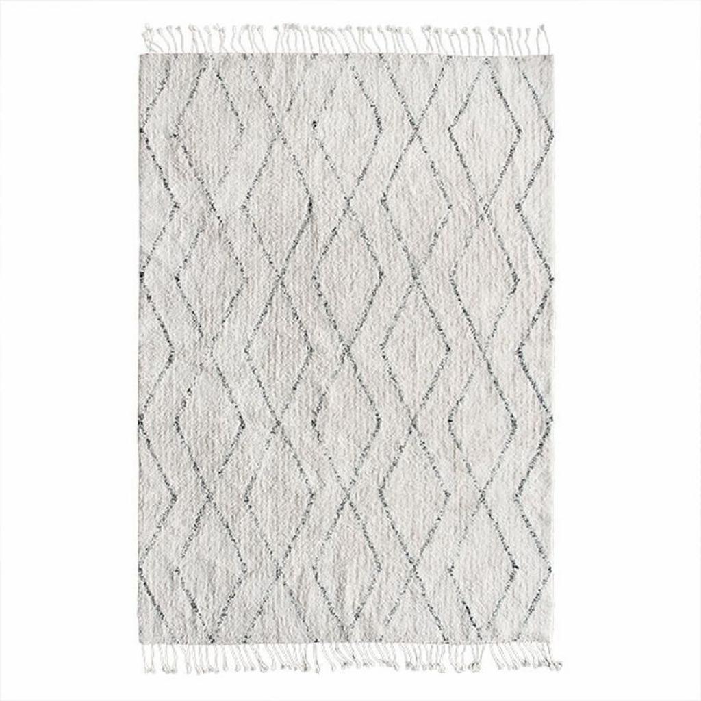 Produktové foto HKLIVING Berberský bavlněný koberec se vzorem Berber  - 140*200 cm