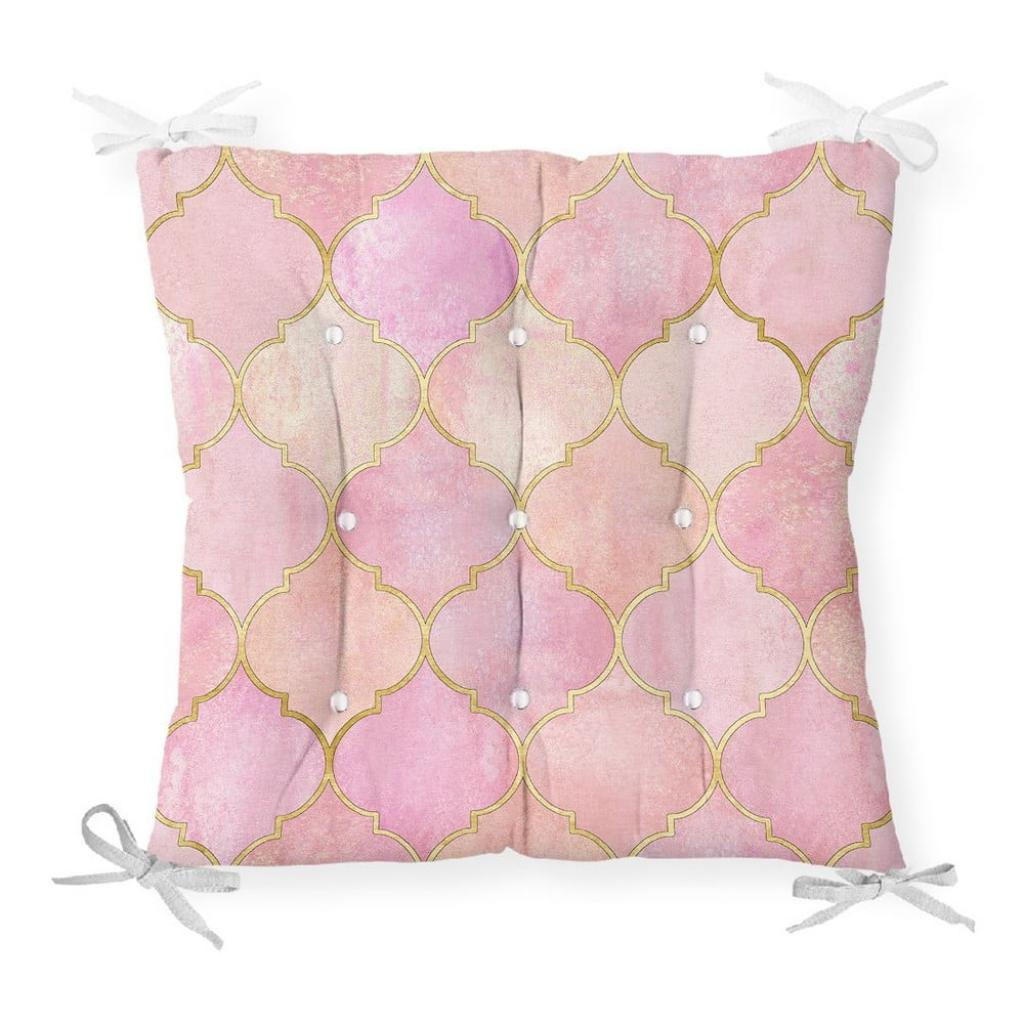 Produktové foto Podsedák s příměsí bavlny Minimalist Cushion Covers Pinky Oriental,40x40cm