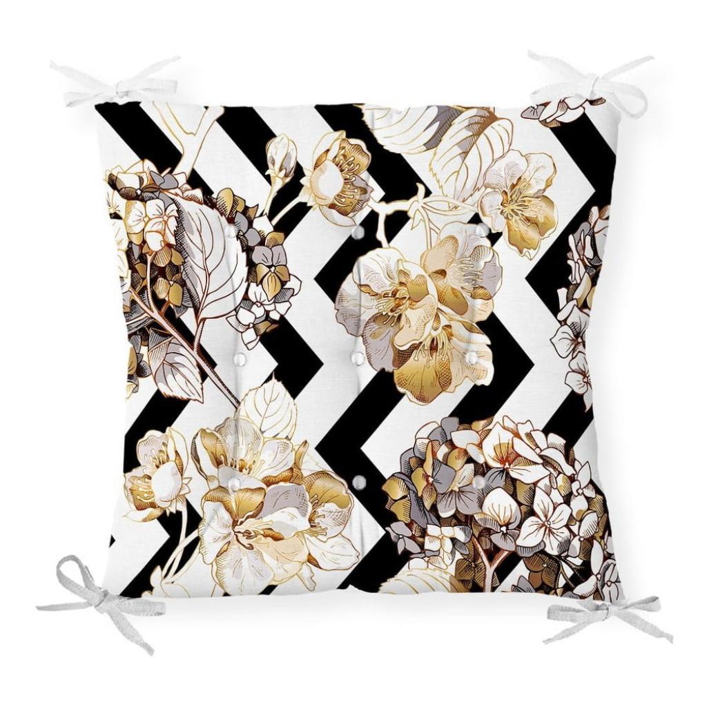 Produktové foto Podsedák na židli Minimalist Cushion Covers Gold Leaf, 40 x 40 cm