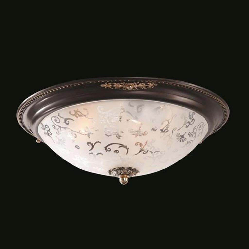 Produktové foto Maytoni Skleněné stropní světlo Diametrik - tmavý bronz