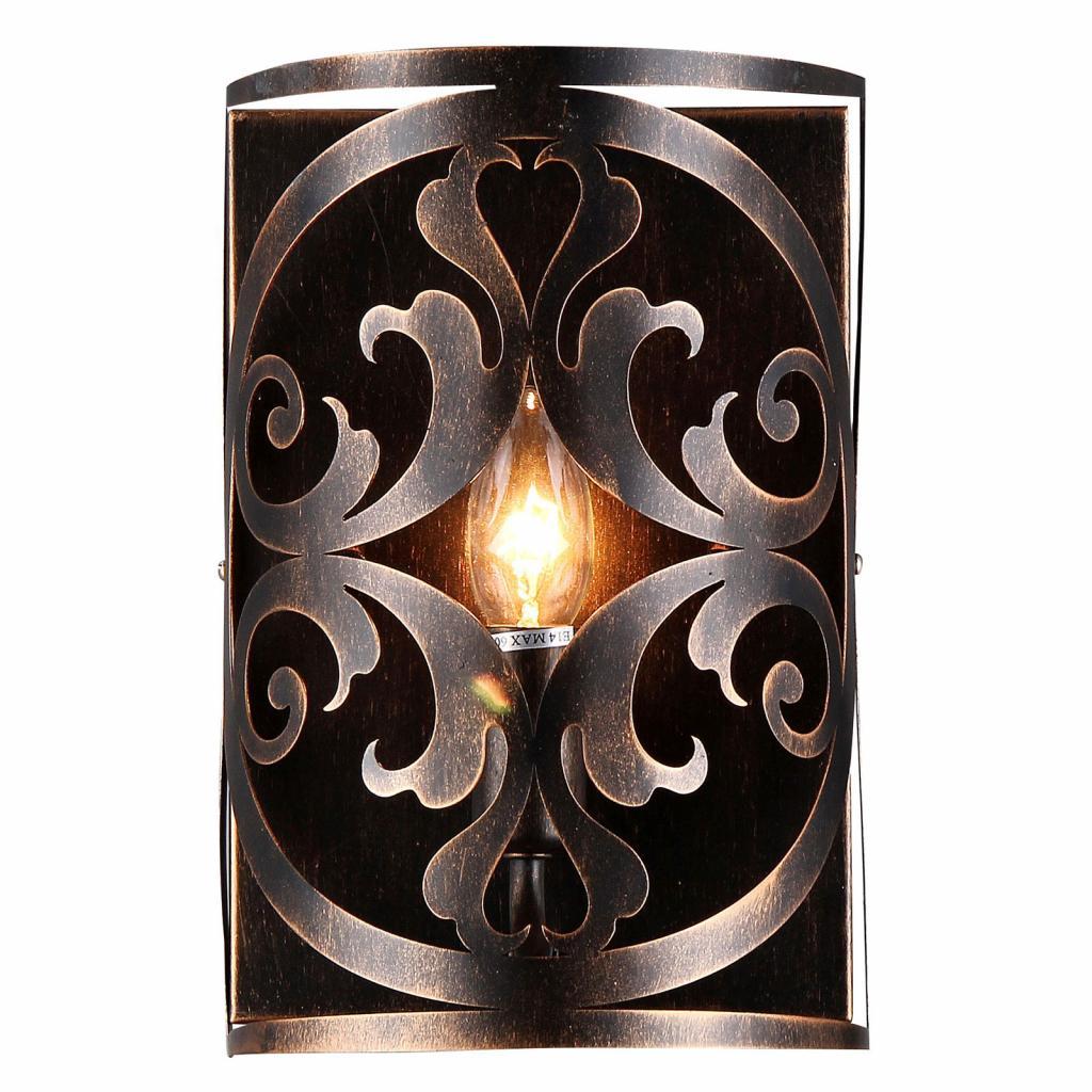 Produktové foto Maytoni Nástěnné světlo Rustika v hnědé barvě